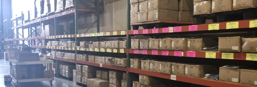 Picture of our warehouse.