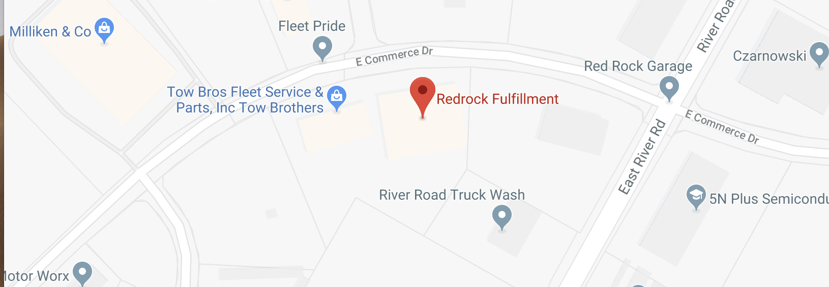 Google map for Company Name.